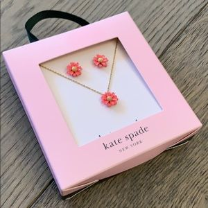 Kate Spade Into the Bloom Earrings/Necklace Set